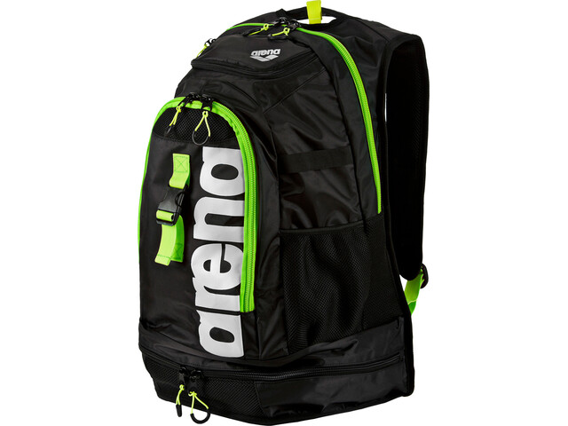 arena Fastpack 2.1 Backpack 45L, dark grey/acid lime/white